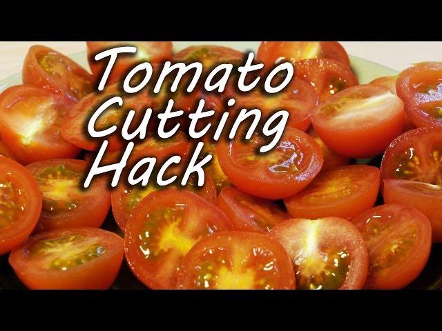 怎麼樣快速切好番茄