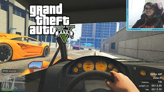 PS4 GTA 5 Online First Person Races!