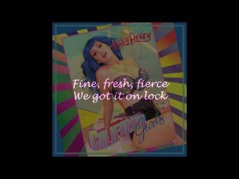 Katy Perry - California Gurls ft. Snoop (Lyric Video),