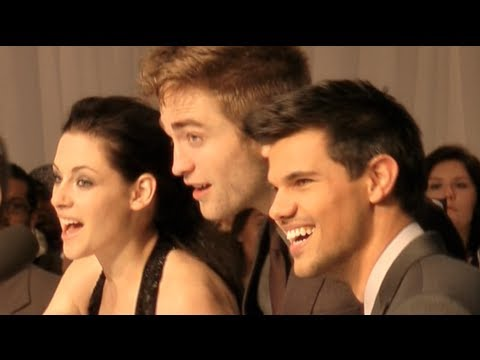 Breaking Dawn London Premiere - Robert Pattinson, Taylor Lautner, Kristen Stewart