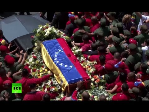 Video: Venezuela farewells 'El Comandante' Hugo Chavez