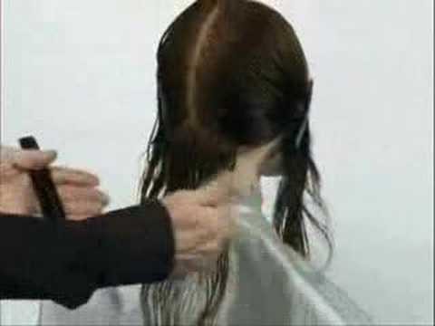 Long Beveled Bob Haircut