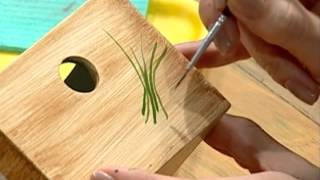 Imitación madera - Pintura