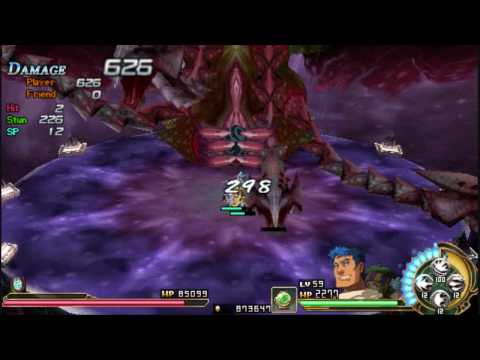 [PSP] Ys Seven Final BOSS Nightmare part 1/3