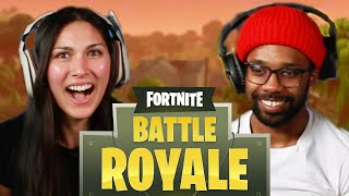 We Attempt An Escort Mission In Fortnite Battle Royale