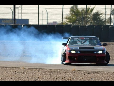 Chris Soehren Drift at Chuckwalla / 2F Performance 570SX