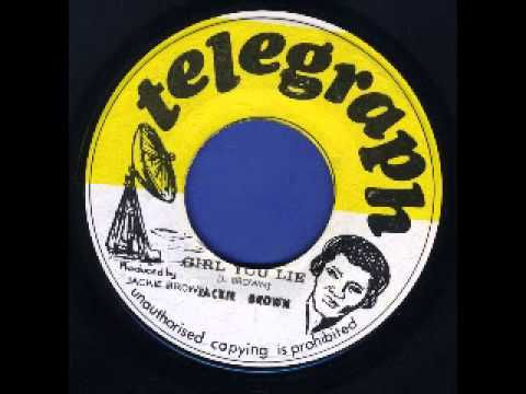 Jackie Brown - Girl You Lie [TELEGRAPH - 1974] [REGGAE RARITIES]