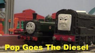 Pop Goes The Diesel Wooden Remake
