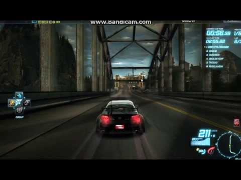NFSW Campbell tunnel using Mazda Cop