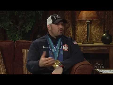 Bobsled Athletes Steve Holcomb, Katie Eberling and Kristi Koplin on Mountain Views