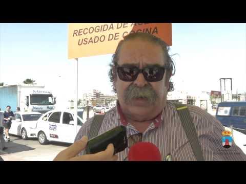 El reciclado de aceite en Roquetas de Mar 2014
