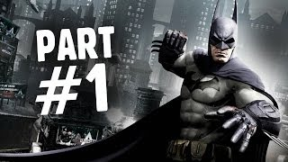 Batman: Arkham Origins Walkthrough Part 1 The Legend