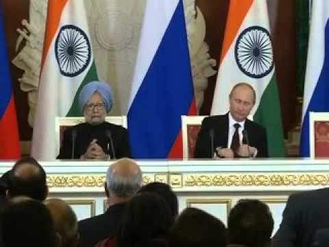 India and Russia sign five documents during the PM's visit to Moscow