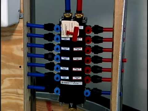 hot water tank installation diagram pex pipe manifolds youtube  pex pipe manifolds youtube