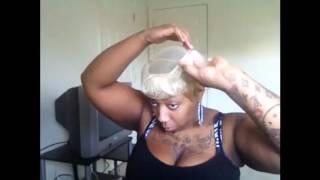 White Blonde 27 Piece Quick Weave Tutorial