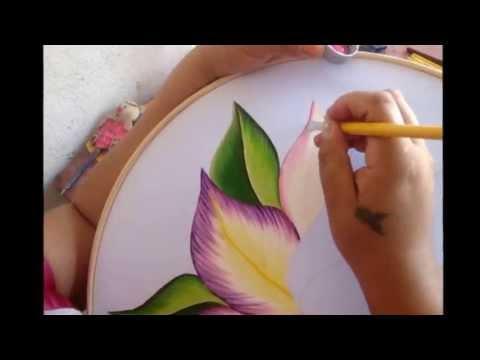 Como pintar una orquidea parte uno marimur 268 youtube - Unas modelos para pintar ...