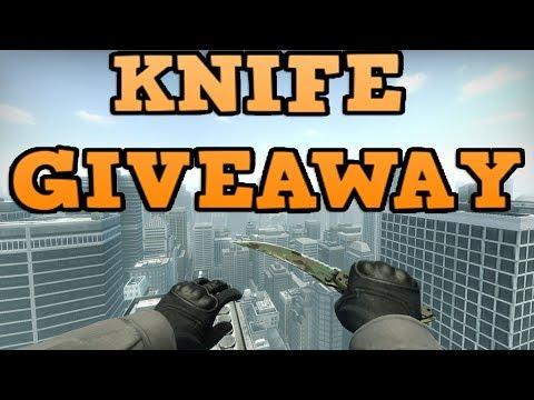 CS:GO FREE KNIFE!!! (GIVEAWAY)