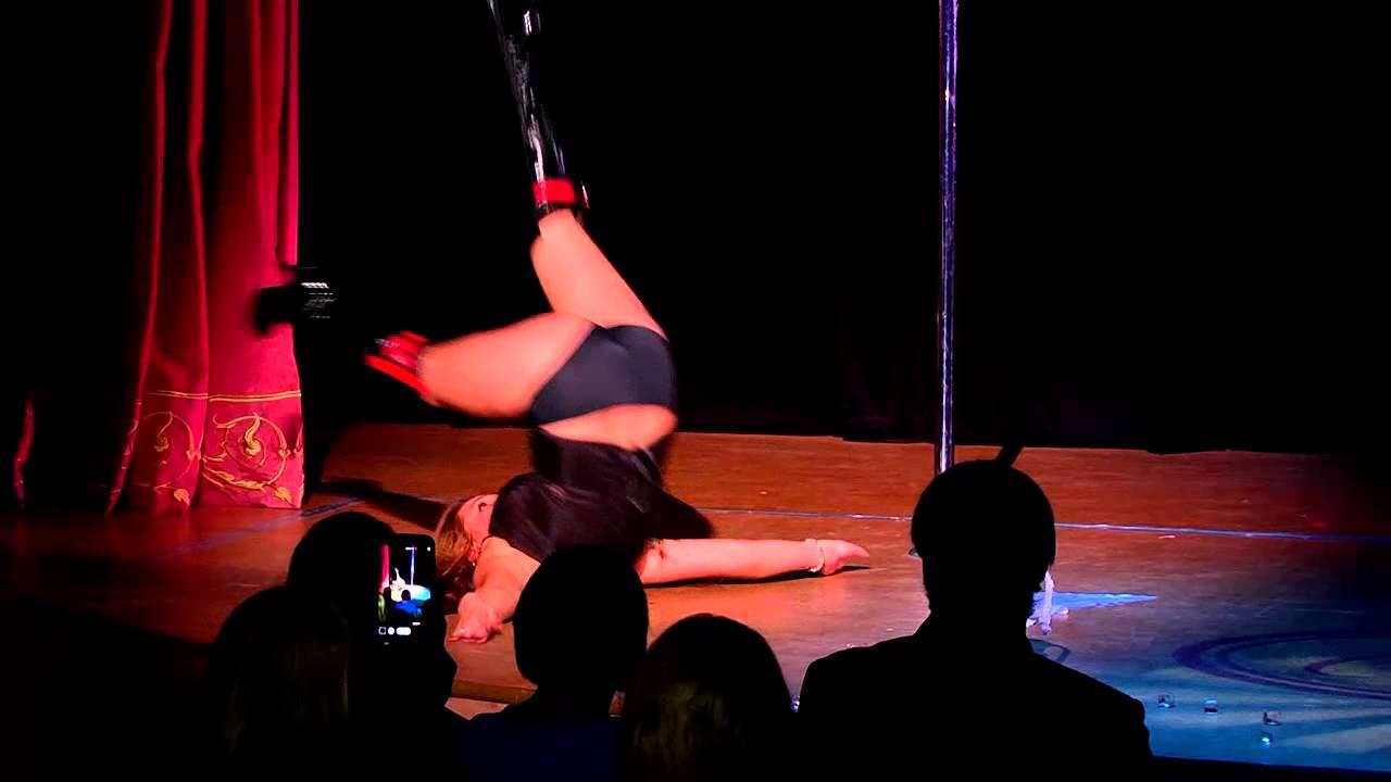 """Отчетный концерт pole dance в клубе """"Олимпия"""" 26.05.2013. Римма Доскаль."""