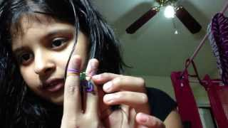 How To Make Dragon Tail Bracelet Using Rubber Bands