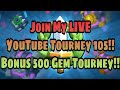 Clash Royale LIVE YouTube Tourney 105 500 Gem Bonus Tourney