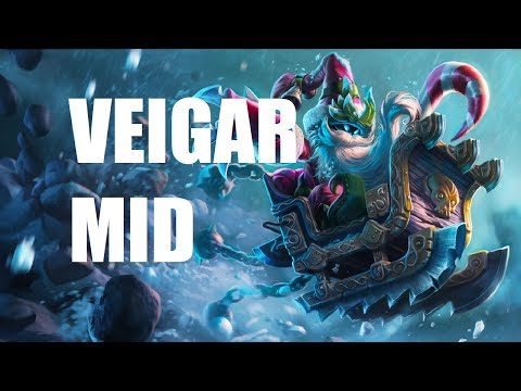 League of Legends - Veigar Mid - Full Game Commentary