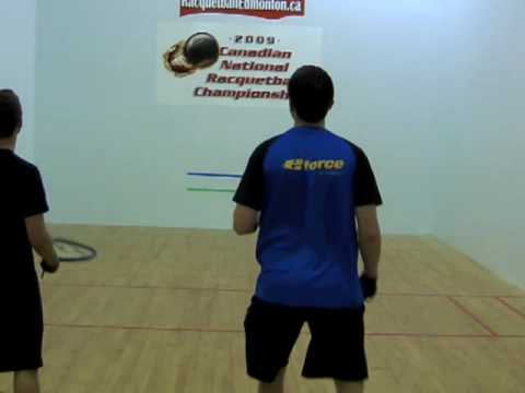 Racquetball Instruction: Wide Angle Pass Forehand