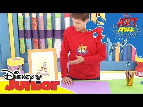 Art Attack Bastelclip #14 - Perspektive | Disney Junior