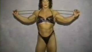 Amelia Hernandez Bending An Iron Bar