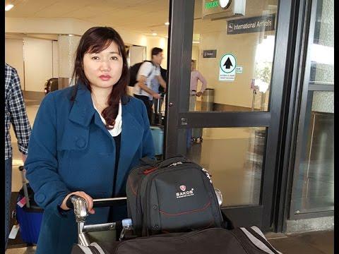 Vợ LS Nguyễn Văn Đài sang Mỹ vận động cho chồng