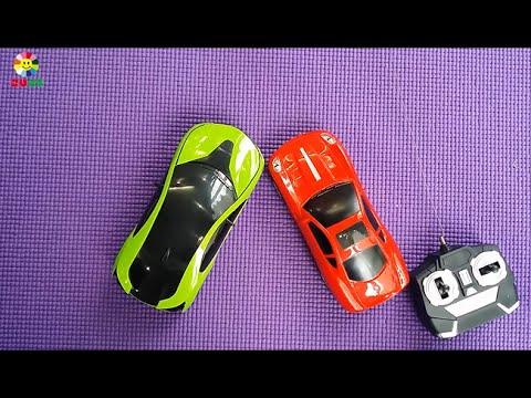 Đồ chơi ô tô: Hai chiếc siêu xe chạy đua tốc độ cao