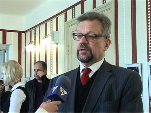 Смотреть видео Вентспилс посетил Е.П. посол Королевства Швеции