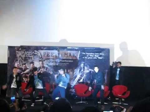 Pee Mak casts Harlem Shake on Jakarta Movie Screening (fan video)