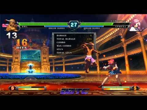 KOF XIII: Hwa Jai combo tutorial - The former Muay Thai Champ is back.