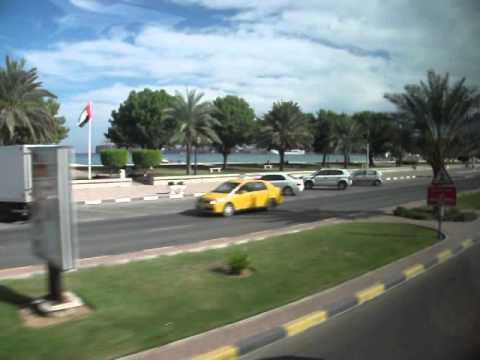 Khor al Fakkan   Drive to Port   MSC Lirica   Dec2013
