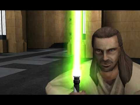 Star wars jedi academy - darth maul vs obi wan kenobi and qui gon jinn - Duel of the fates