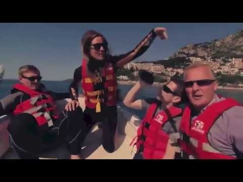 tj13TV presents - Nico Rosberg and Lewis Hamilton Jetski in Monaco