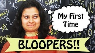 My First Time On YouTube Video Bloopers