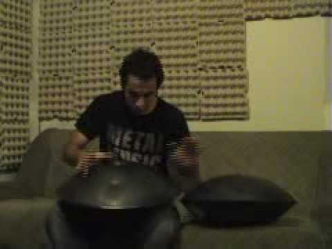 Продолжая тему КОСМИЧЕСКИХ муз. инструментов - Manu Delago Hang solo