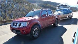 2014 Nissan Frontier PRO-4X Takes On The Ike Gauntlet