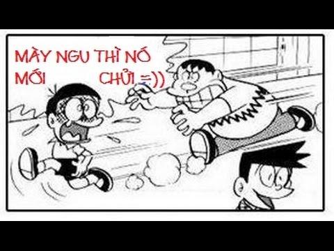 Phim Hài DOREMON Chế chuẩn cmnr - Phần 40 - Cười 365 - Ngày Tận Thế 29 /7 Của Thánh Nô :))