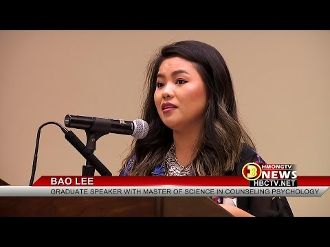 3HMONGTV NEWS: Reception held at UW-Madison to recognize 2016 Asian American graduates-Dr. Pao Thao.