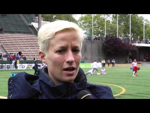Post-Match Interview: Megan Rapinoe  // Reign FC v Chicago Red Stars on 7/20
