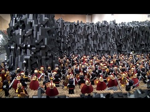 LEGO 300 Battle of Thermopylae - Brickworld Chicago 2014
