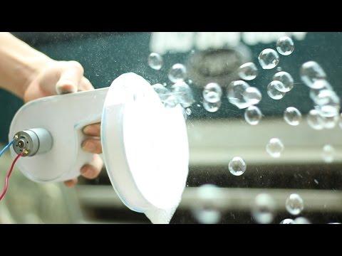 Làm máy Thổi Bong Bóng từ tấm Foamex