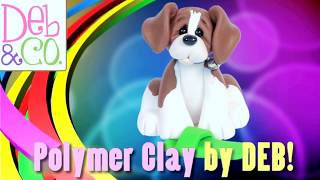 Polymer Clay How To Make A Christmas Bear