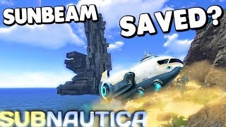 Subnautica - PURE ENZYME 42 USED TO CURE CARAR, CAN WE DISABLE THE GUN AND SAVE THE SUNBEAM NOW?