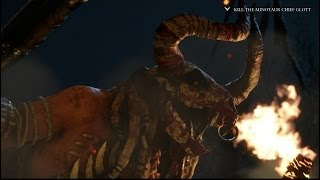 Ryse: Son Of Rome Killing The Minotaur Chief Glott