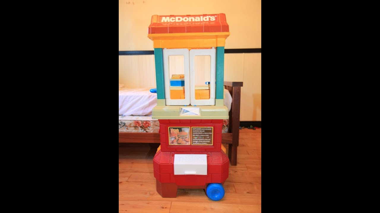 Mcdonalds drive thru 1980s fisher price restaurant fast for Playskool kitchen set