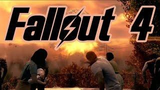 Начало игры Fallout 4 и геймплей