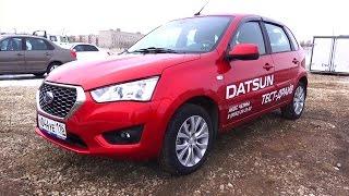 2015 Datsun mi-DO Dream. Обзор (интерьер, экстерьер, двигатель).. MegaRetr